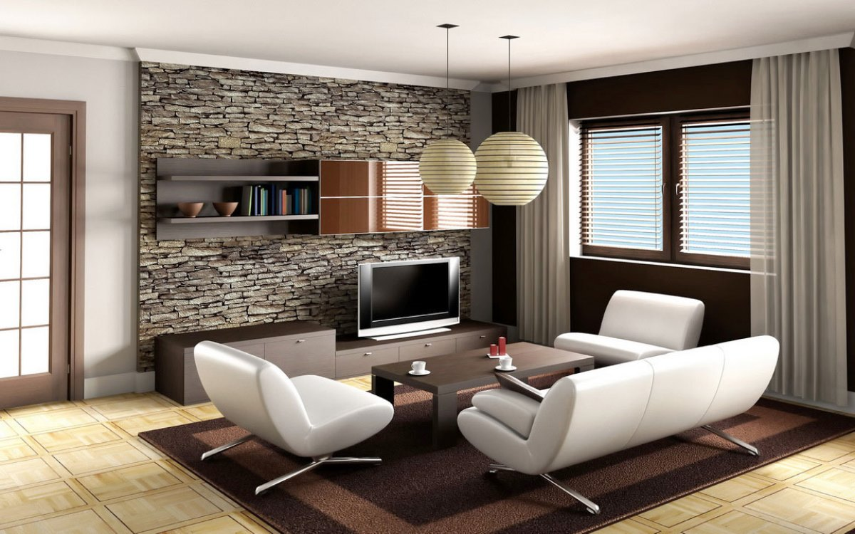 Minimalist living room small apartment homedizz for Minimalist small apartment